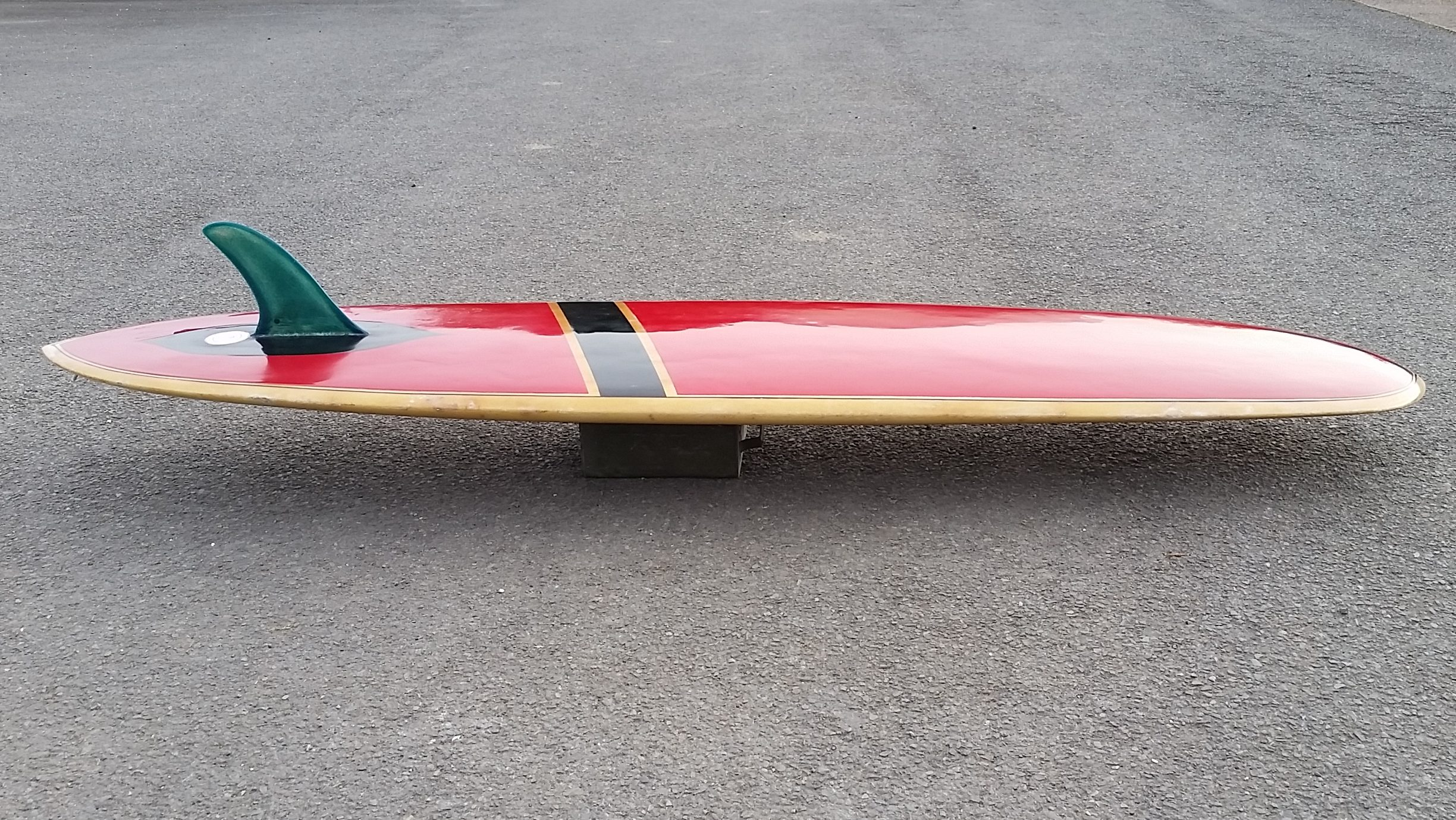 Vintage 1960 39 s bilbo transitional longboard surfboard for sale for Fish surfboard for sale