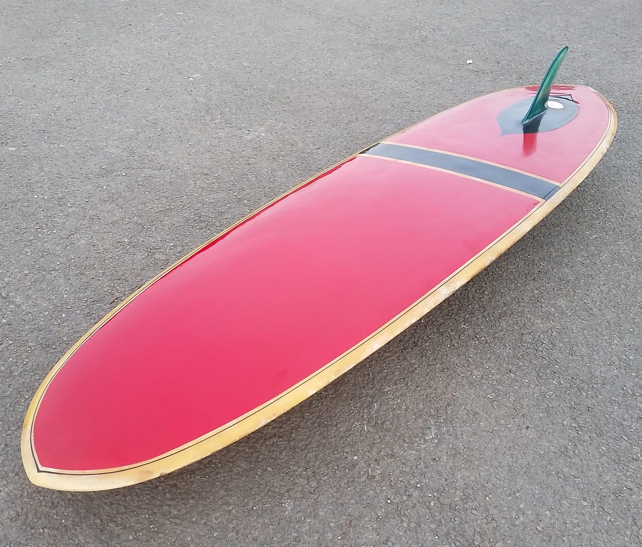Vintage 1960 S Bilbo Transitional Longboard Surfboard For Sale