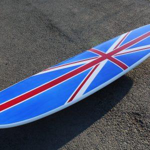 union jack Electrofish surfboard longboard