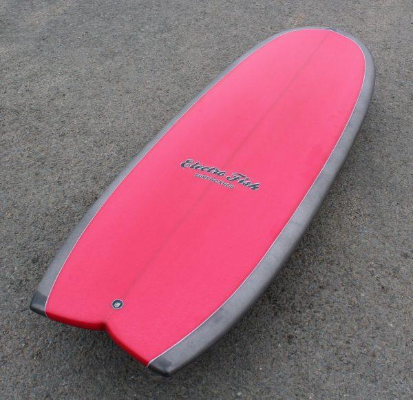 puck mini simmons hybrid surfboard