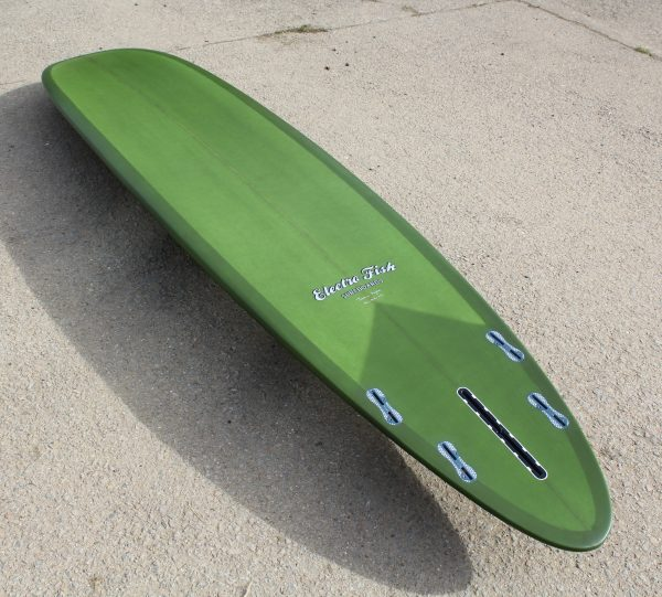 9'2 Barb Progressive Noserider Longboard Quad setup, Rounded Pintail