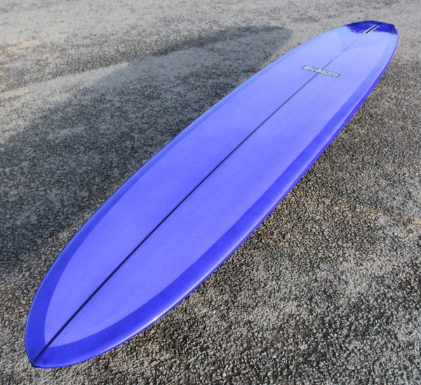 Glider longboard surfboard