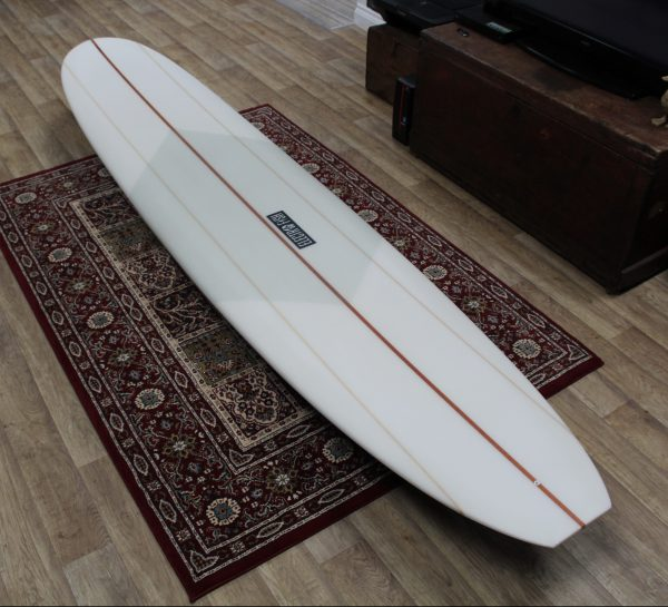 Singlefin Longboard With Volan Deck Patch