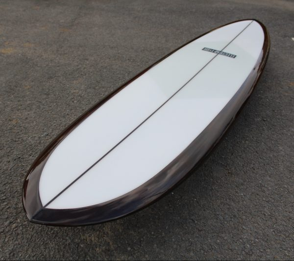 Bevel Deck Rail Surfboard