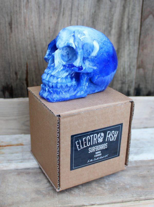 Surfboard Resin Skull surfer gift present