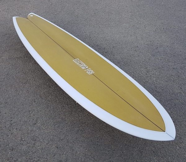 long fish surfboard